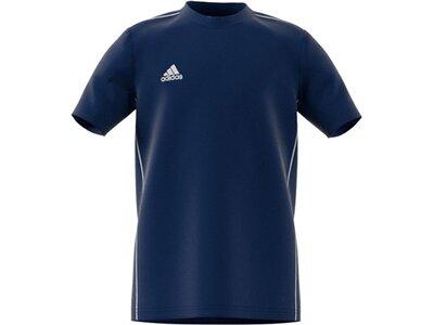 ADIDAS Fußball - Teamsport Textil - T-Shirts Core 18 Tee T-Shirt Kids Blau