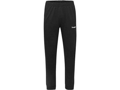 HUMMEL Fußball - Teamsport Textil - Hosen Cotton Pant Jogginghose Kids Schwarz