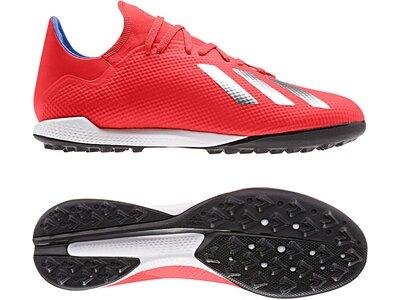 ADIDAS Fußball - Schuhe - Turf X Virtuso 18.3 TF Rot