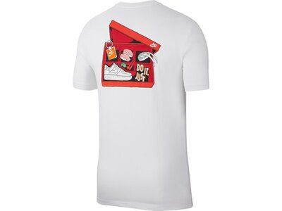NIKE Lifestyle - Textilien - T-Shirts Shirt kurzarm Grau