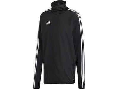 ADIDAS Fußball - Teamsport Textil - Sweatshirts Tiro 19 Warm Top Sweatshirt Dunkel Schwarz