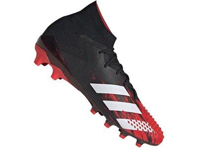 ADIDAS Fußball - Schuhe - Kunstrasen Predator Uniforia 20.1 AG Schwarz