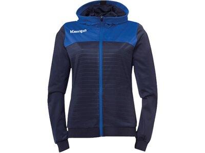 KEMPA Fußball - Teamsport Textil - Jacken Emotion 2.0 Kapuzenjacke Damen Blau