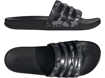 ADIDAS Lifestyle - Schuhe Herren - Flip Flops Adilette Comfort Badelatsche Dunkel Schwarz