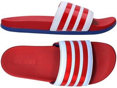 ADIDAS Lifestyle - Schuhe Herren - Flip Flops Adilette Comfort Badelatsche Dunkel Rot