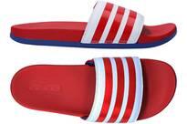 Vorschau: ADIDAS Lifestyle - Schuhe Herren - Flip Flops Adilette Comfort Badelatsche Dunkel
