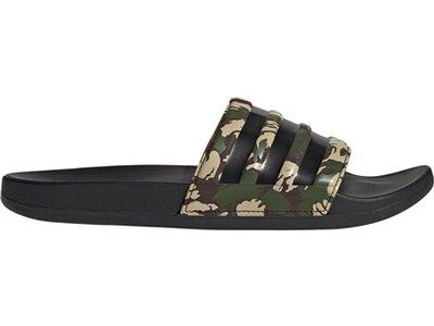 ADIDAS Lifestyle - Schuhe Herren - Flip Flops Adilette Comfort Badelatsche Dunkel Grau