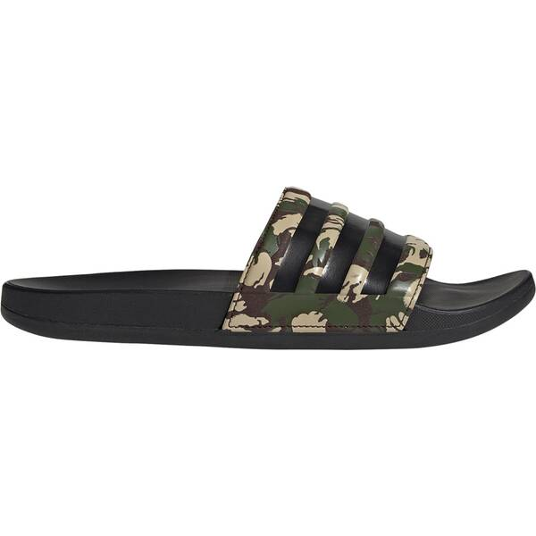 ADIDAS Lifestyle - Schuhe Herren - Flip Flops Adilette Comfort Badelatsche Dunkel