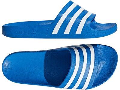 ADIDAS Lifestyle - Schuhe Kinder - Flip Flops Adilette Aqua Badelatschen Blau