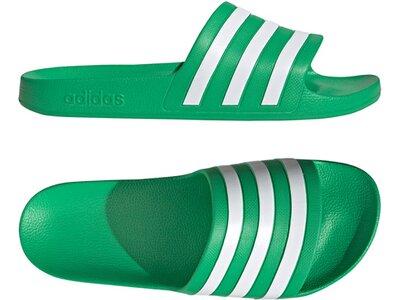 ADIDAS Lifestyle - Schuhe Kinder - Flip Flops Adilette Aqua Badelatschen Grün