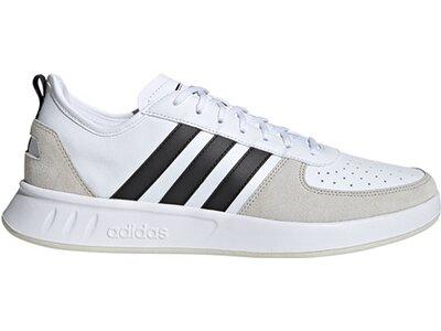 ADIDAS Lifestyle - Schuhe Herren - Sneakers Court 80´s Low Silber