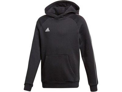 ADIDAS Fußball - Teamsport Textil - Sweatshirts Core 18 Hoody Kapuzensweatshirt Kids Schwarz