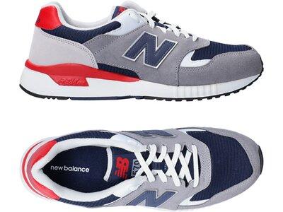NEWBALANCE Lifestyle - Schuhe Herren - Sneakers ML570 D Silber