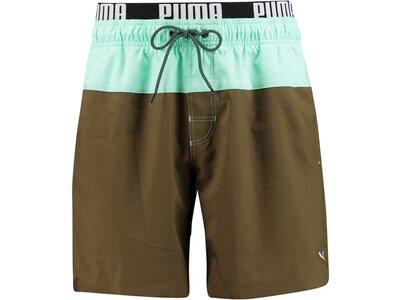 PUMA Underwear - Hosen Swim Medium Short Badehose Braun