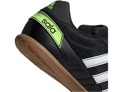 adidas Herren Super Sala Fußballschuh Schwarz