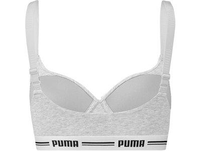 PUMA Equipment - Sport-BHs Padded Top Sport-BH Damen Grau