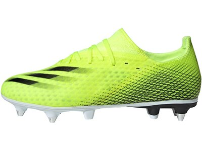 ADIDAS Fußball - Schuhe - Stollen X GHOSTED.3 SG Superlative Grün