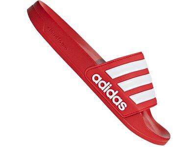 ADIDAS Lifestyle - Schuhe Herren - Flip Flops Cloudfoam Adilette Badelatsche Lila