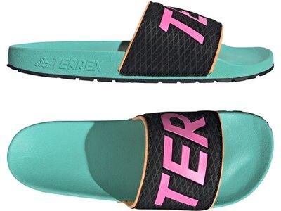 ADIDAS Lifestyle - Schuhe Herren - Flip Flops Adilette Terrex Outdoor Badelatsche Schwarz