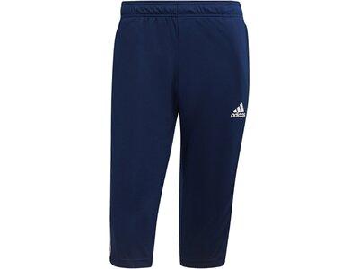 ADIDAS Fußball - Teamsport Textil - Hosen Tiro 21 3/4 Trainingshose Dunkel Blau