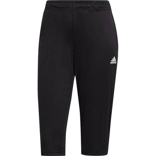 ADIDAS Fußball - Teamsport Textil - Hosen Tiro 21 3/4 Trainingshose Dunkel