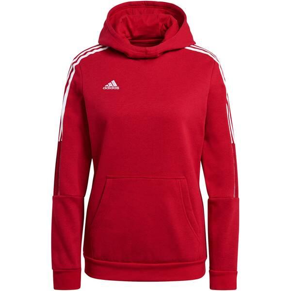 ADIDAS Fußball - Teamsport Textil - Sweatshirts Tiro 21 Sweat Hoody Damen Dunkel