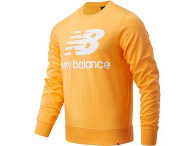 NEWBALANCE Lifestyle - Textilien - Sweatshirts Essentials Logo Sweatshirt Orange