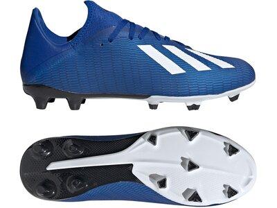 ADIDAS Fußball - Schuhe - Nocken X Uniforia 19.3 FG Blau