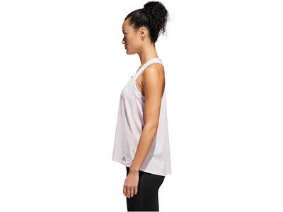 ADIDAS Damen Laufshirt / Tank Top Response Light Speed Pink