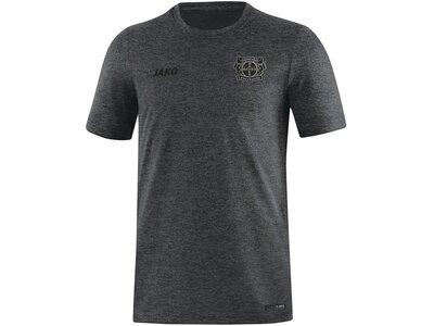 JAKO Damen B04 T-Shirt Premium Basics Grau