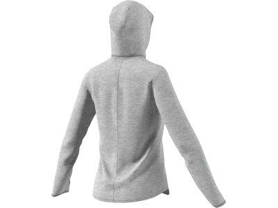 """ADIDAS Damen Sweatshirt / Hoodie """"Response Hoodie"""" Grau"""