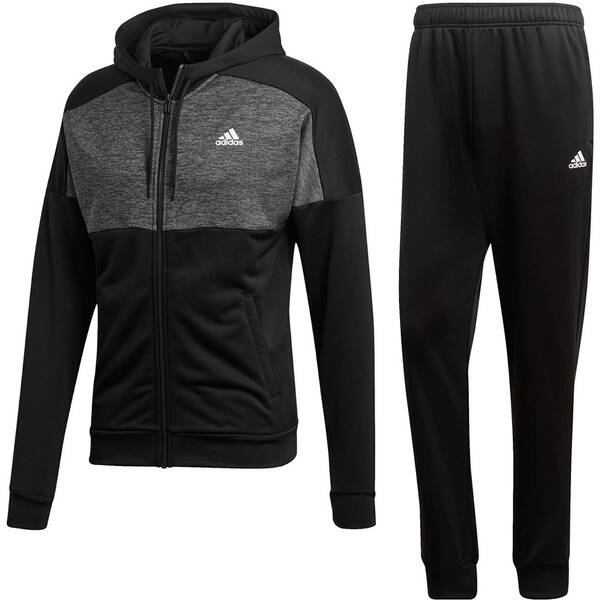 ADIDAS Herren Trainingsanzug MTS Gametime | Sportbekleidung > Sportanzüge > Trainingsanzüge | Black | ADIDAS