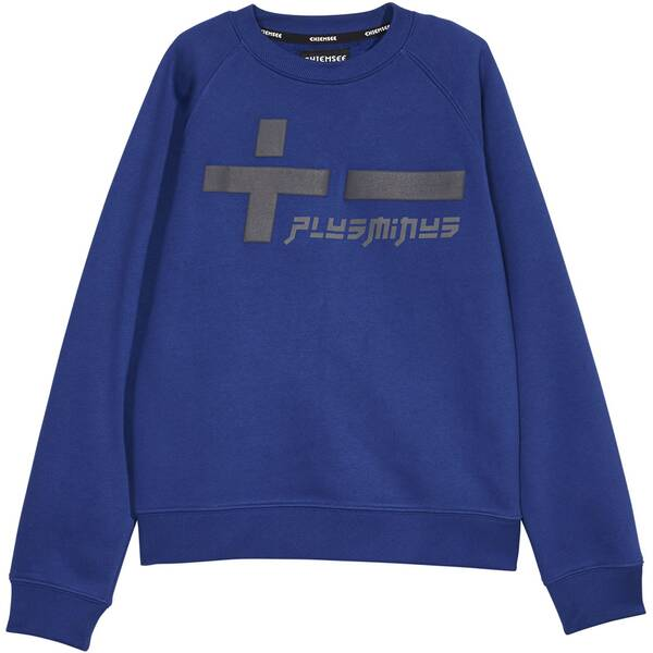 CHIEMSEE Sweatshirt aus weicher Sweatware - GOTS zertifiziert