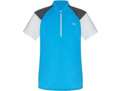 TAO Nachhaltiges Herren Funktions Zip-Shirt ENFYS Blau