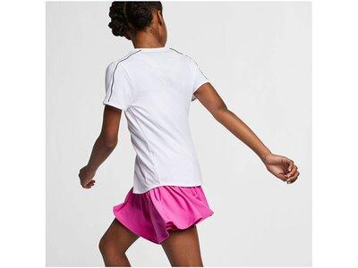 "NIKE Mädchen Tennisshirt ""Dry Top"" Kurzarm Grau"