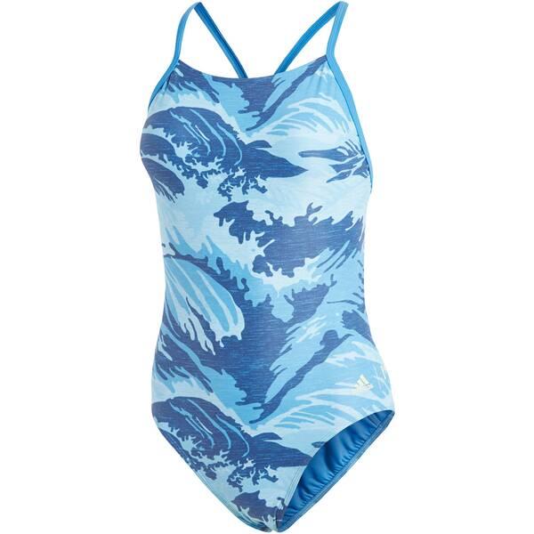 Bademode - ADIDAS Damen Badeanzug Parley › Blau  - Onlineshop Intersport
