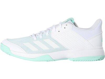 """ADIDAS Damen Badmintonschuhe """"Ligra 6"""" Weiß"""