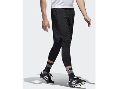 ADIDAS Herren Tango Shorts mit Tight Schwarz