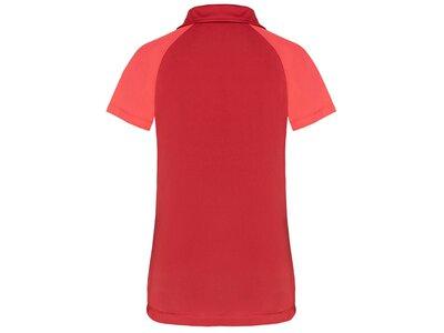 TAO Nachhaltiges Damen Funktions Polo kurzarm Shirt LENI Rot