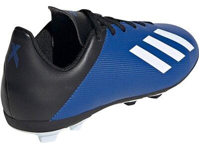 "ADIDAS Kinder Fußballschuhe Rasen ""X 19.4 FxG J"" Blau"