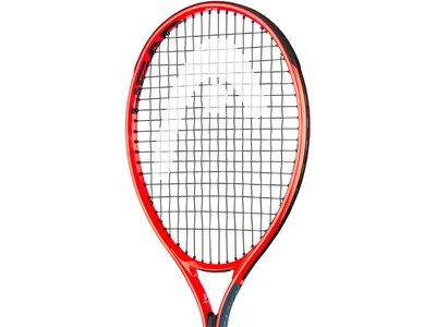 "HEAD Kinder Tennisschläger ""Radical Jr. 19"" - besaitet Rot"