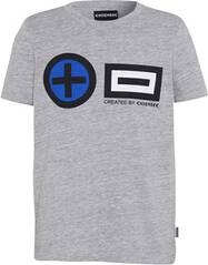 CHIEMSEE T-Shirt Kids mit PlusMinus-Print - GOTS zertifiziert