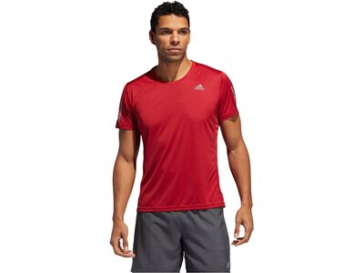 "ADIDAS Herren Shirt ""Own The Run"" Kurzarm Rot"