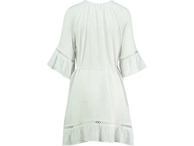 "SEAFOLLY Damen Strandkleid ""Bell Sleeve Cover Up"" Kurzarm Weiß"