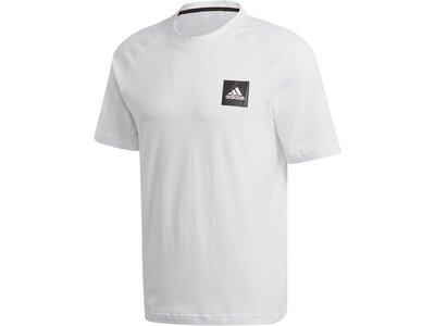 """ADIDAS Herren T-Shirt """"MHE Tee Stadium"""" Grau"""