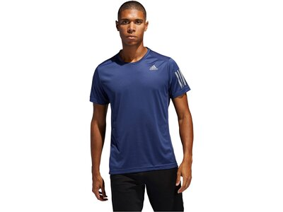 "ADIDAS Herren Laufshirt ""Own the Run Tee"" Blau"