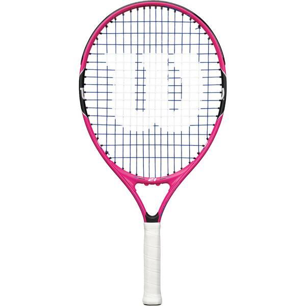 WILSON Kinder Tennisschläger Burn Pink 21 - besaitet