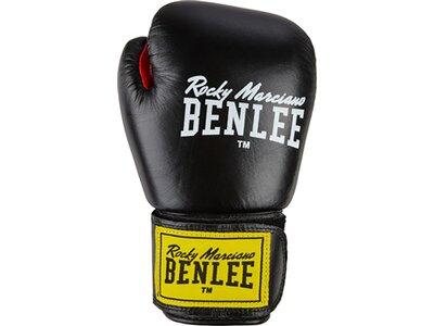 BENLEE Boxhandschuhe aus Leder FIGHTER Schwarz