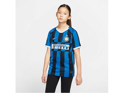 "NIKE Kinder Fußballtrikot ""Inter Milan 2019/20 Stadium Home"" Kurzarm Blau"