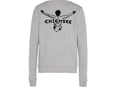 CHIEMSEE Sweatshirt Kids mit großem CHIEMSEE Jumper Print am Rücken Grau